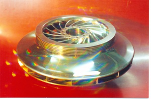 Пайка рабочих колес центробежных машин