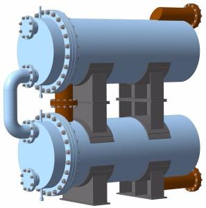 Подогреватель нефти водяной ПНВ-4300